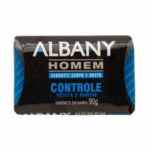 Sabonete albany homem controle odor 90g / un / albany -