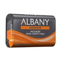 Sabonete Albany Homem Multiação Barba, Cabelo e Corpo 85g -