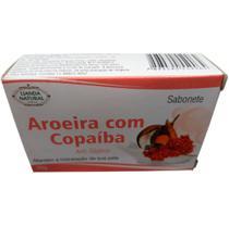 Sabonete Anti-séptico Aroeira com Copaíba 90 g Lianda Natural -