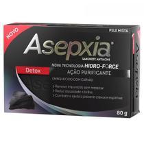 Sabonete asepxia detox carvao 80g -