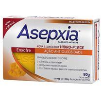 Sabonete Asepxia Enxofre Ação Antioleosidade 80g -