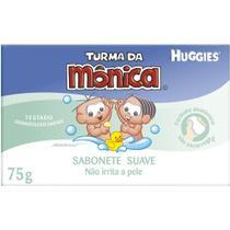 Sabonete Baby Suave 75g - 12 unidades - Turma da Mônica Huggies -