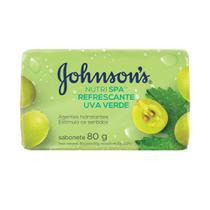 Sabonete Barra Johnson's Nutri SPA Rejuvenescedora Uva Verde 80g -