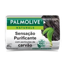 Sabonete Barra Palmolive Naturals Sensação Purificante Carvão 85g -