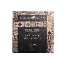 Sabonete de Argila Preta Detox - 100g - Derma Clean
