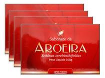 Sabonete De Aroeira 4 X 100g - Arte Nativa -