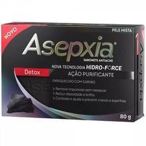 Sabonete Detox Ação Purificante Pele Mista 80g - Asepxia -