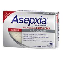 Sabonete em Barra Asepxia - Sabonete Antiacne Neutro - 80g - Genomma