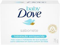 Sabonete em Barra Dove Baby Hidratação Enriquecida - 75g