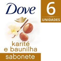 Sabonete em Barra Dove Delicious Care Karité Leve Mais Pague Menos -