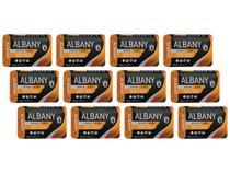 Sabonete em Barra Hipoalergênico Albany - Homen Laranja 4 em 1 85g 12 Unidades