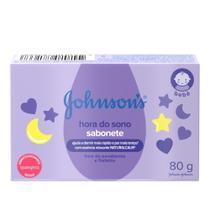 Sabonete em Barra JOHNSON'S Baby Hora do Sono 80g -