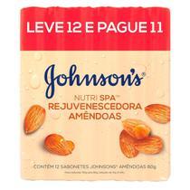 Sabonete em Barra Johnson's Nutrispa Amêndoas Leve 12 Pague 11 -