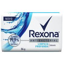 Sabonete em Barra Rexona Antibacteriano Limpeza Profunda 84g -