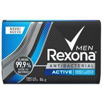 Sabonete Em Barra Rexona Men Desodorante Active 84g -
