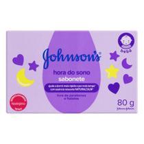 Sabonete em barra suave hora do sono hipoalergênico 80g johnsons - JohnsonS
