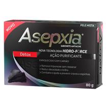 Sabonete Facial Asepxia Detox 80g - Genomma