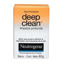 Sabonete Facial Neutrogena Deep Clean 80g -