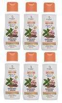 Sabonete íntimo barbatimão e aroeira  aromas do brasil bio instinto kit com 6 unidades -