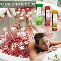 Sabonete intimo feminino - aroeira - barbatimao - menta - Begonia Cosmeticos