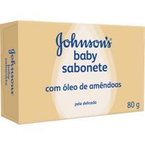 Sabonete Johnson's Baby Óleo de Amêndoas 80g - Johnsons