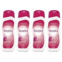 sabonete líquido feminino aroeira fragrância suave higiene conforto e bem estar 4x200ml arte nativa -