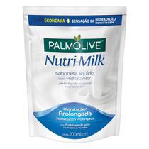 Sabonete Líquido Palmolive Nutri-Milk Hidratante 200ml Refil -