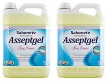 SABONETE LIQUIDO  SEM AROMA ASSEPTGEL  5 L ( 2 unidades ) - Start