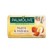 Sabonete Naturals Nutri e Hidrata Óleo de Amêndoas com Lanolina 85g 12 Unidades - Palmolive -