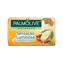 Sabonete Naturals Sensação Iluminosa Óleo de Argan e Oil-Complex 85g 12 Unidades - Palmolive -
