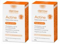 Sabonete para Pele com Acne Actine darrow - 2 unidades -