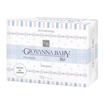 Sabonete Retangular Blue Giovanna Baby Moments 90 g -
