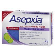 Sabonete Suavizante Ação Reequilibrante 80g - Asepxia -
