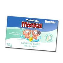 Sabonete t.monica huggies 75g suave - Huggies Turma Da Mônica