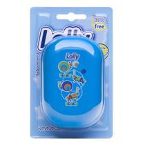 Saboneteira coleção Zoo azul, especialmente desenvolvida para armazenar o sabonete infantil - Lolly (lolni)