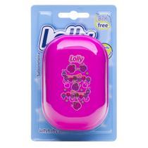 Saboneteira coleção Zoo rosa, especialmente desenvolvida para armazenar o sabonete infantil - Lolly (lolni)