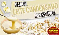 Sabores p/ caramelizar Pipoca Doce - Leite Condensado - 1kg - Flavored Popcorn