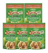 Sachê Dog Chow Cães Adultos R Peq Salmão E Arroz 100g - 5un - Purina -