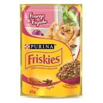 Sache Friskies Gatos Adultos Frango e Fígado ao Molho - 85g -