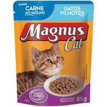 Sache Magnus Cat Carne Filhotes 85 gr - Adimax