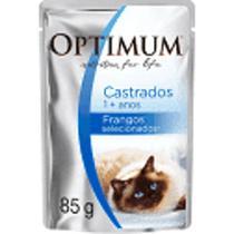 Sachê Optimum GATOS CASTRADOS 85 gr - Marx