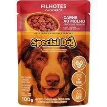 Sachê ração úmida de carne special dog filhote 100gr -
