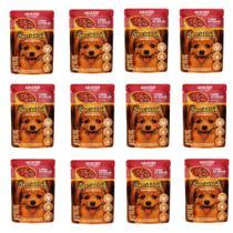 Sachê Special Dog Cães Adultos Raças Pequenas e Mini Carne - Caixa com 12 unidades de 100g -