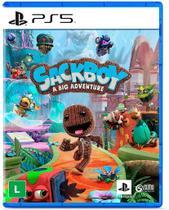 Sackboy: Uma Grande Aventura - PS5 - Playstation
