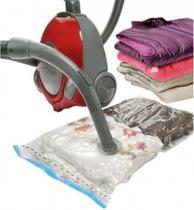 Saco A Vácuo Organizador Protetor Roupa Cobertor 60x80 Cm - Clink