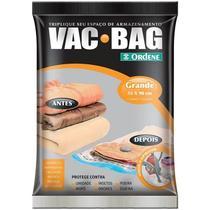 Saco à Vácuo Vac Bag Ordene Grande 55x90cm -