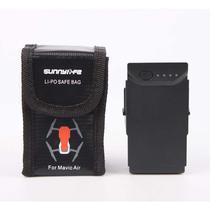 Saco Anti Chama e Explosão para Bateria - Drone DJI Mavic Air - 3 Baterias - Sunnylife