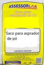 SACO ASPirador DE PO PET/ HIDROVAC A10 C/3 - Assessolar