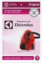 Saco Aspirador Eletrolux Clario Original C/ 3u - Electrolux