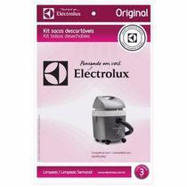 Saco Aspirador Eletrolux Hidrovac Original C/ 3u - Electrolux